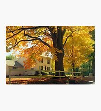 Connecticut Autumn Photographic Print