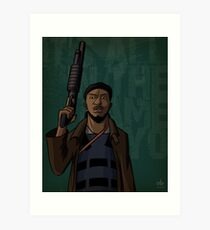Omar Art Print