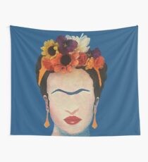 Frida, Flowers and All Tapestry