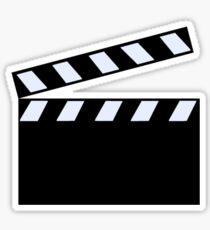 Film Clapper Board Sticker