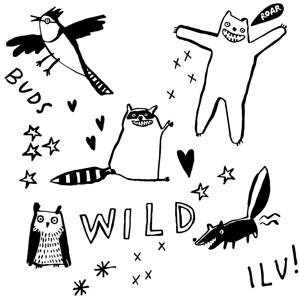 Wild by jillianailsa