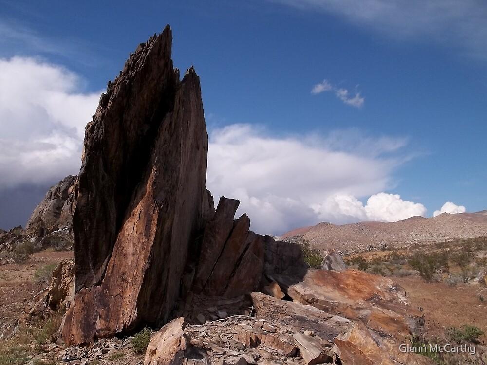 Prayer Rocks - Route 66 by Glenn McCarthy