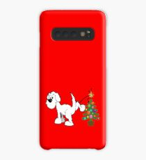 Merry Christmas love DOG Case/Skin for Samsung Galaxy