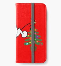 Merry Christmas love DOG iPhone Wallet/Case/Skin
