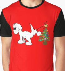 Merry Christmas love DOG Graphic T-Shirt