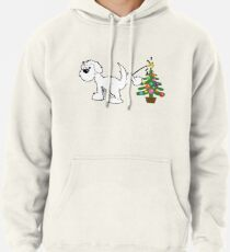 Merry Christmas love DOG Pullover Hoodie
