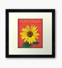 Tuscany. Framed Print