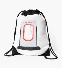 Tesla Supercharger Drawstring Bag