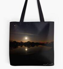 two moon Tote Bag