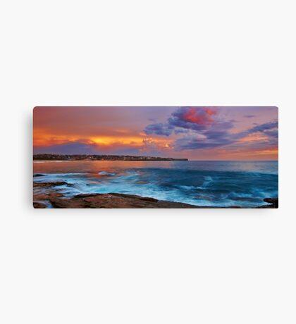 The Northern Light - Maroubra NSW Canvas Print