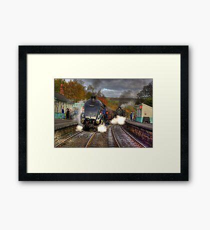 Grosmont - Revisited Framed Print