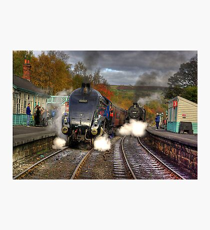 Grosmont - Revisited Photographic Print