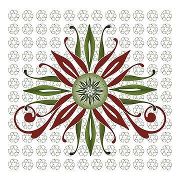 Christmas Flower (2) by CatherineKita