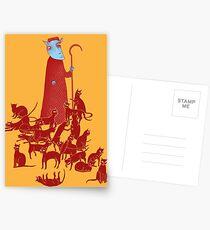 Herding Cats Postcards