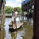 Floating villages of Tonle Sap by Melanie Simmonds