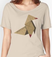 HEAVY RAIN: ORIGAMI BIRD Women's Relaxed Fit T-Shirt