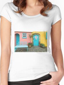 The colours of Portmeirion Women's Fitted Scoop T-Shirt