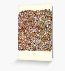 Where is wally in this product? Greeting Card