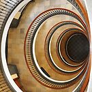 Vintage Staircase by Bruno Beach