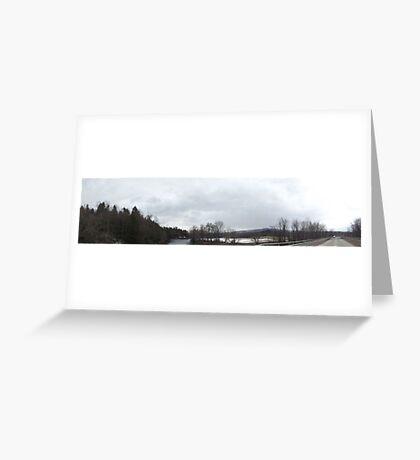 Black River Greeting Card