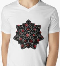 Fire in the Night V-Neck T-Shirt