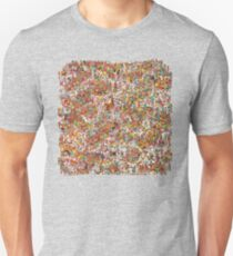 Where is wally in this product? T-Shirt