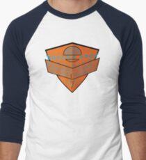 usa california cars tshirt by rogers bros Men's Baseball ¾ T-Shirt