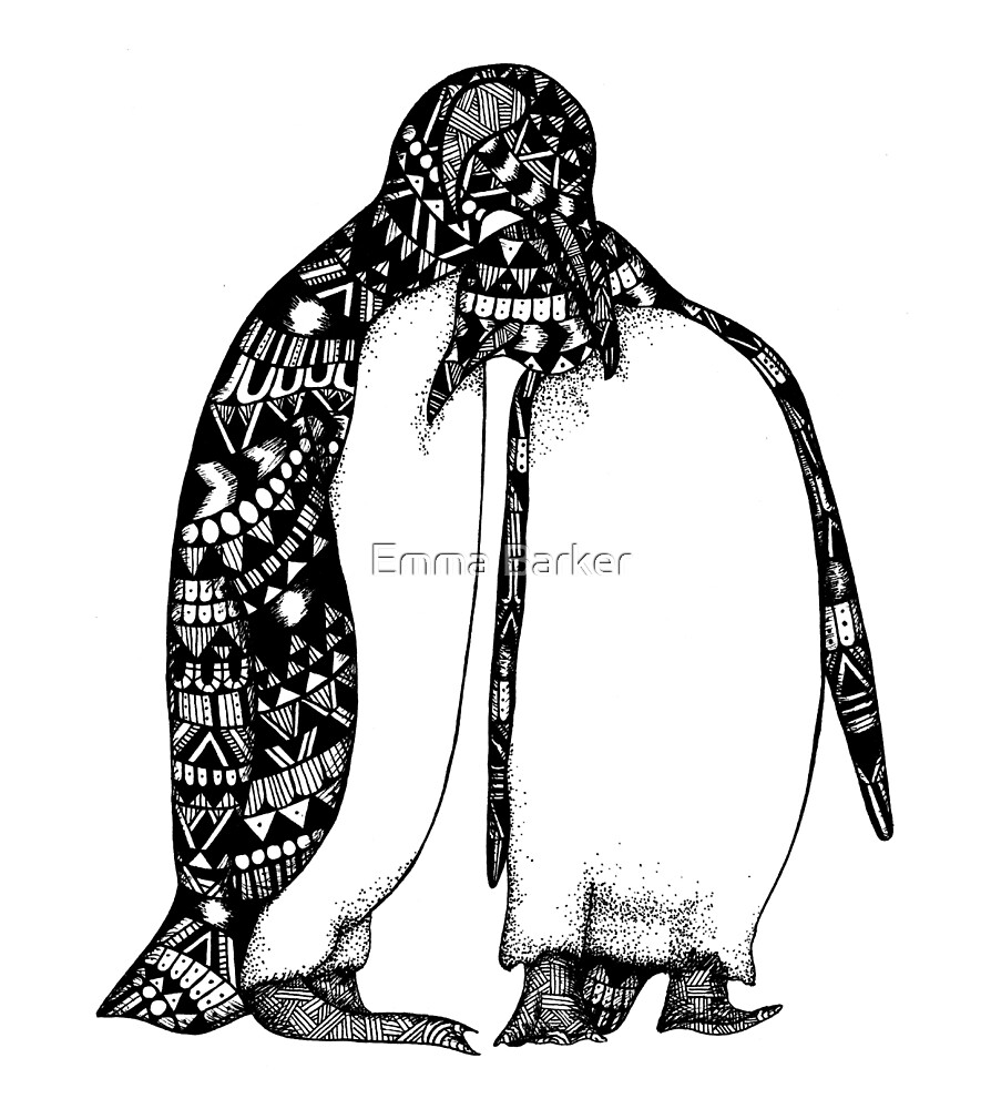 Penguin Hug by Emma Barker