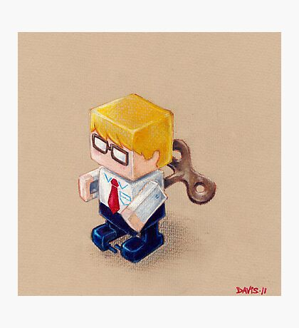 Office Space (EP illustration) Photographic Print