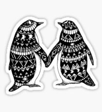Penguin Couple Sticker