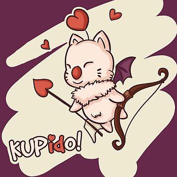 Kup(id)o! Valentine Moogle by yuniku