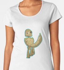 Laputa bot Premium Scoop T-Shirt