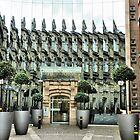 The Bourse. Leeds by Lilian Marshall