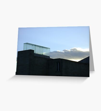 a trap for clouds Greeting Card