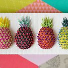 Psychedelic Pineapples by PetitPlat