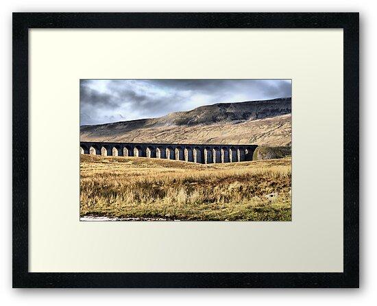 Ribblehead Viaduct by Sandra Cockayne
