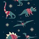 Dinos In Sweaters by Teo Zirinis