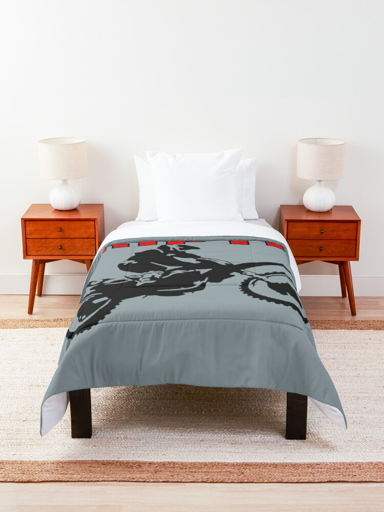 Alternate view of Grip It and Rip It Dirt Bike Racer Comforter