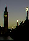 [3D] Big Ben backlit by Themis