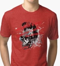 What happened? Tri-blend T-Shirt