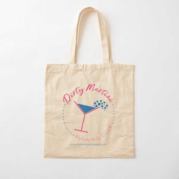 Dirty Martini Running Club Cotton Tote Bag