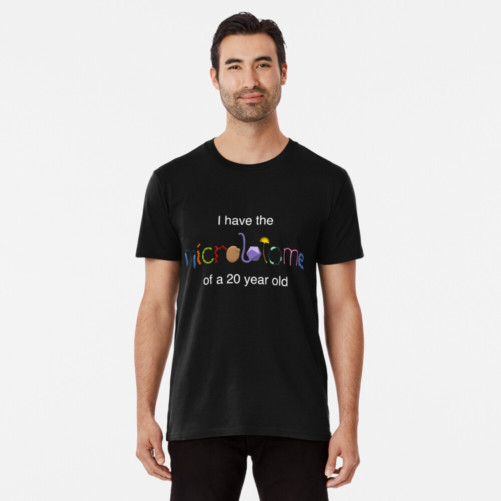 Young microbiome for dark shirts Premium T-Shirt