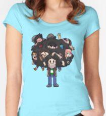The Avidan Tree Women's Fitted Scoop T-Shirt