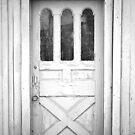 Spooky Old Door by Christopher Herrfurth