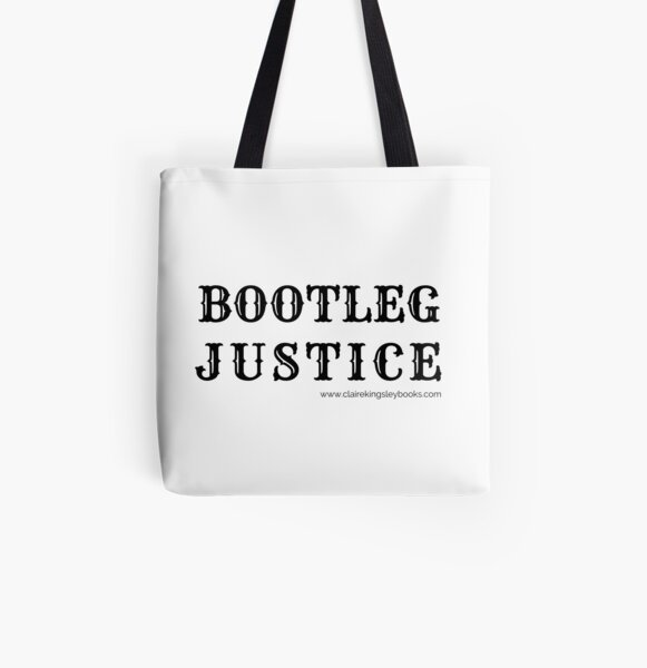 Bootleg Justice All Over Print Tote Bag