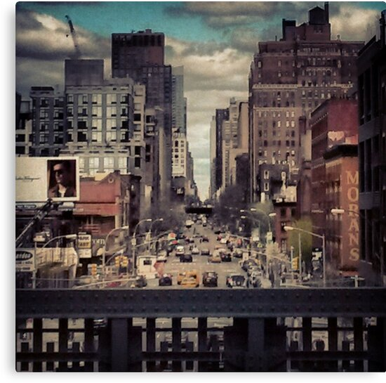 View from the Hi Line. New York City, New York by crashbangwallop