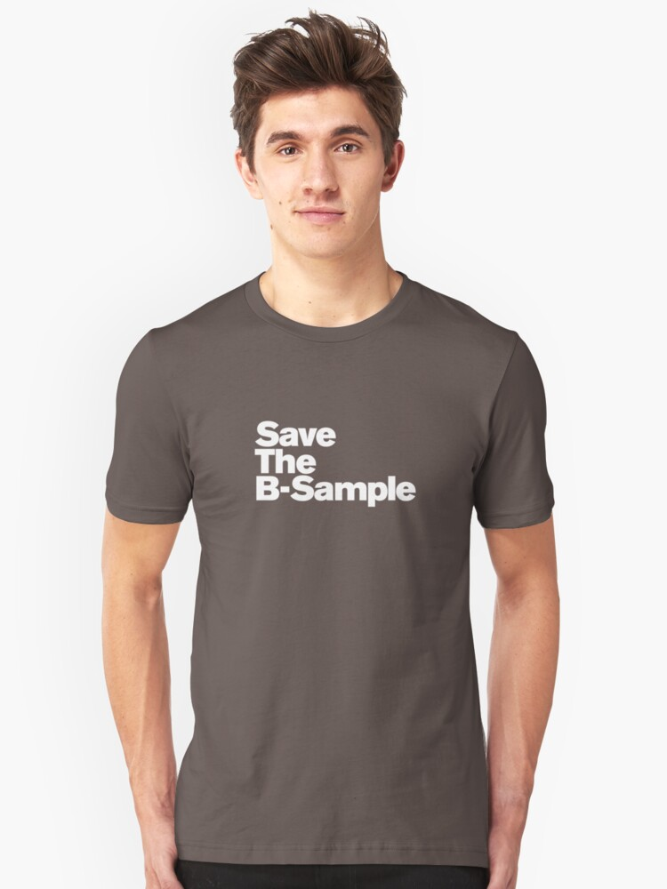 save the b sample Unisex T-Shirt Front