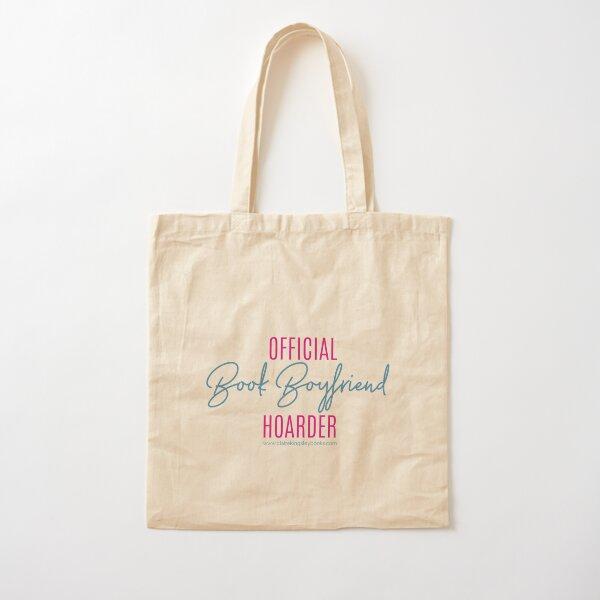 Book Boyfriend Hoarder Cotton Tote Bag