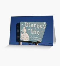 Route 66 - Blarney Inn Greeting Card