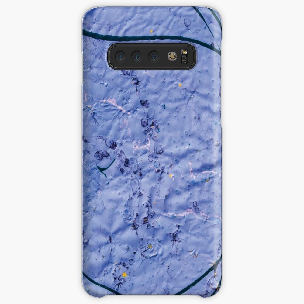 indigo rough texture Samsung Galaxy Snap Case